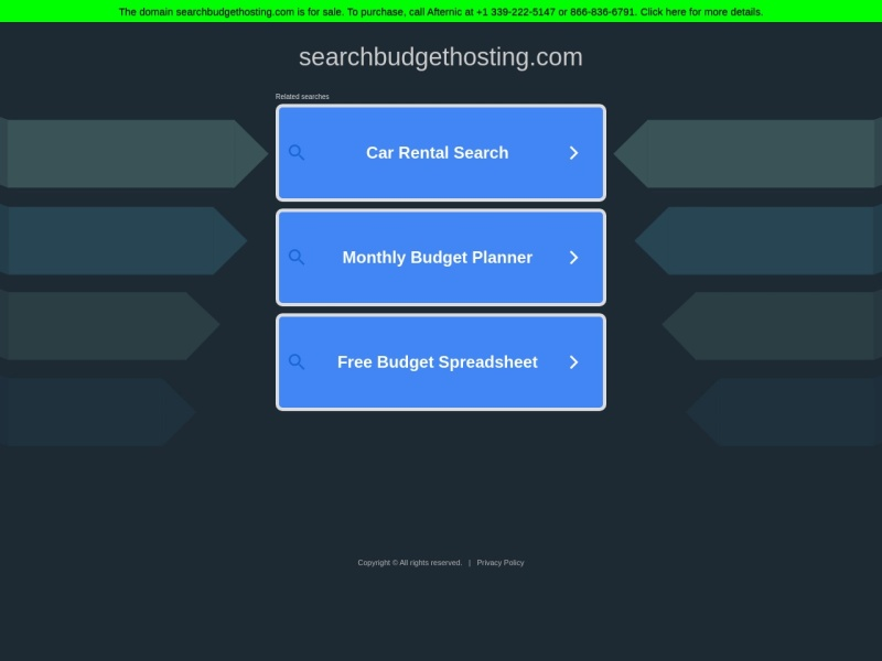 Search Budget Hosting