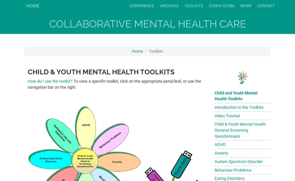 Child & Youth Mental Health Toolkits
