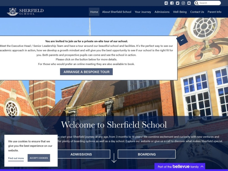 Sherfield School reviews and contact