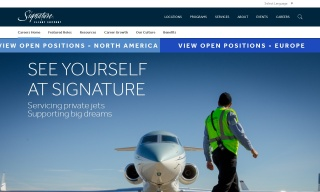 Apply for Customer Service Reprentative job at Signature Flight Support today