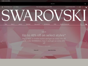 Swarovski 40% Boxing Day Sale