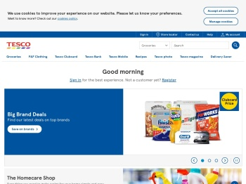 Tesco Direct – End Of Season Sale