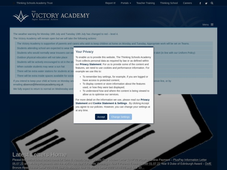 The Victory Academy reviews and contact