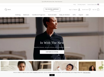 The Clothing Sale now live at The White Company‏