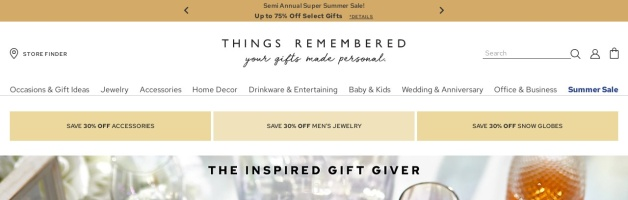 Things Remembered Coupons