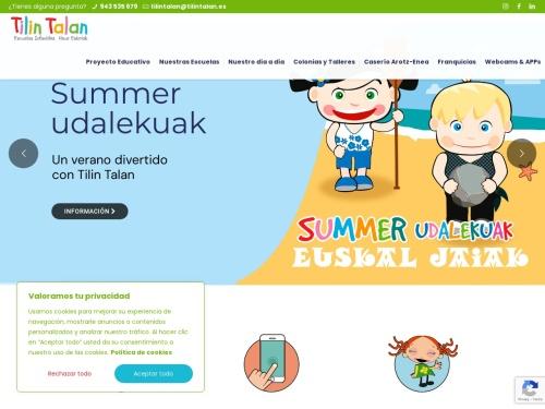 Opiniones sobre  Escuela Infantil Tilin Talan