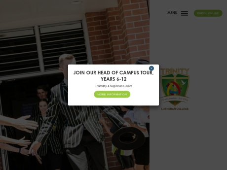 Trinity Lutheran College Website