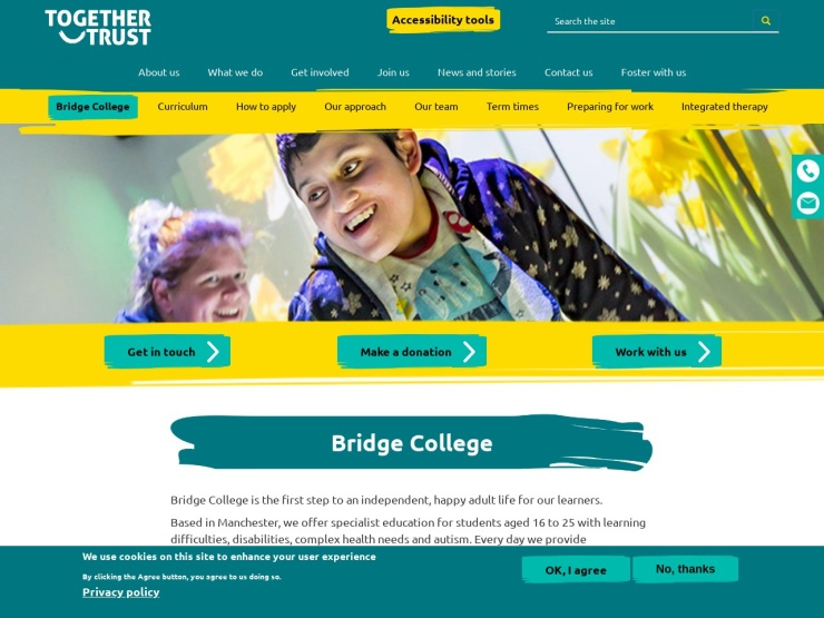 Bridge College reviews and contact