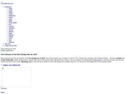 Top Dating Sites screenshot