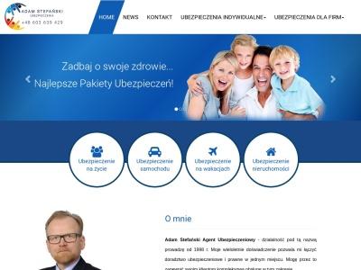 Ubezpieczenia - Adam Stefański - Ostróda