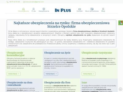 In-Plus Ubezpieczenia - Ubezpieczenia Strzelce Opolskie | Komunikacyjne Majątko