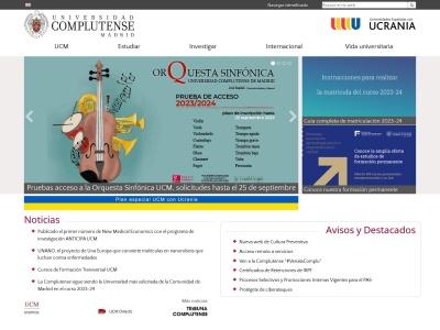 Web de Universidad Complutense de Madrid - Opiniones de alumnos de Universidad Complutense de Madrid-