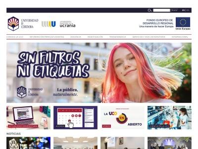 Web de Universidad de Córdoba - Opiniones de alumnos de Universidad de Córdoba-