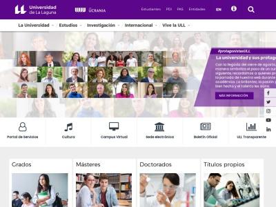 Web de Universidad de La Laguna - Opiniones de alumnos de Universidad de La Laguna-