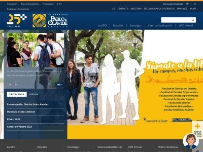 Web de Universidad Pablo de Olavide - Opiniones de alumnos de Universidad Pablo de Olavide-