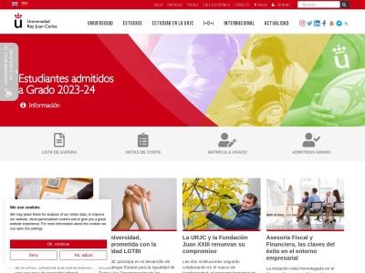 Web de Universidad Rey Juan Carlos - Opiniones de alumnos de Universidad Rey Juan Carlos-