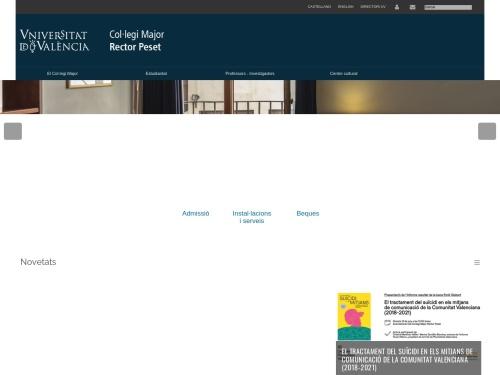 Opiniones sobre  Universitat De València - Colegio Mayor Rector Peset