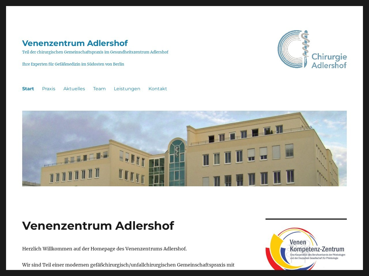 Venenzentrum Adlershof