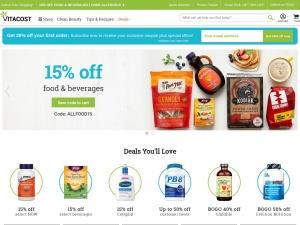 Discount Vitamins, Supplements, Health Foods & More | Vitacost
