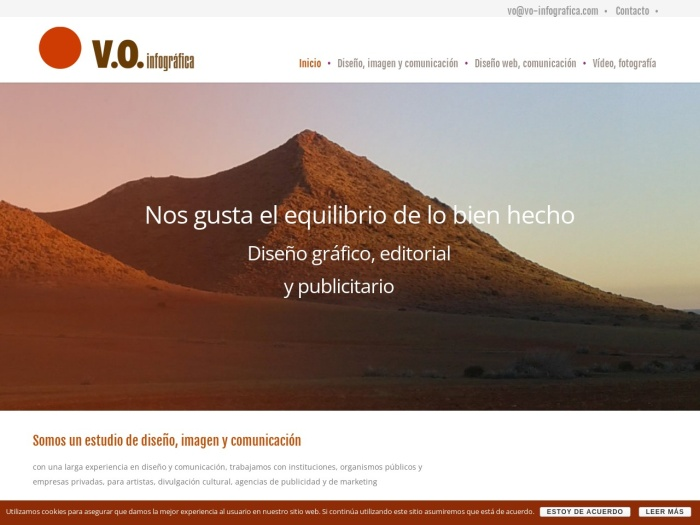 Opiniones sobre V.O. INFOGRAFICA S.L.
