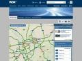 Aktuelle Verkehrslage bei wdr.de: Screenshot