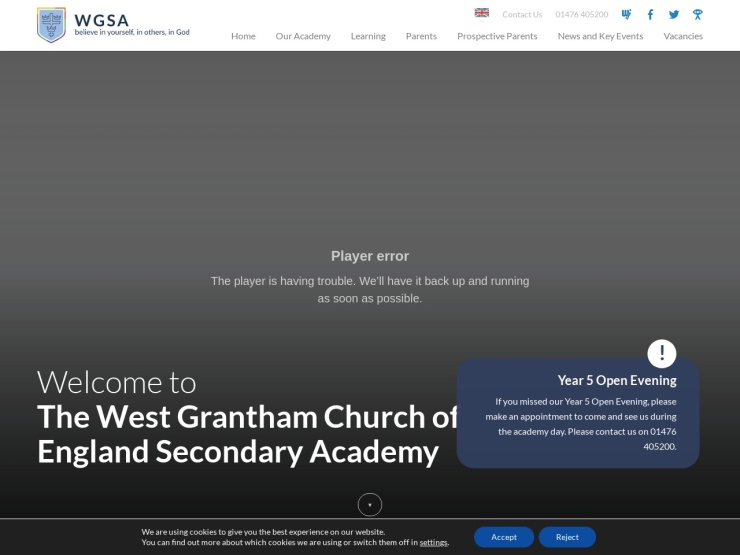 The West Grantham Academy St John's reviews and contact