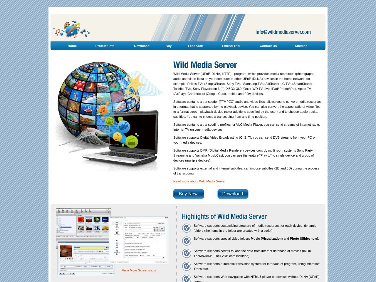 Wild Media Server