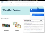 WorldPetExpress Coupon and Promo codes