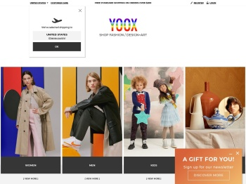 Yoox Autumn Winter Collection Reduced