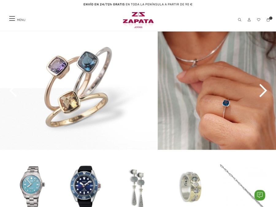Tienda online ZAPATA JOYEROS de BARCELONA