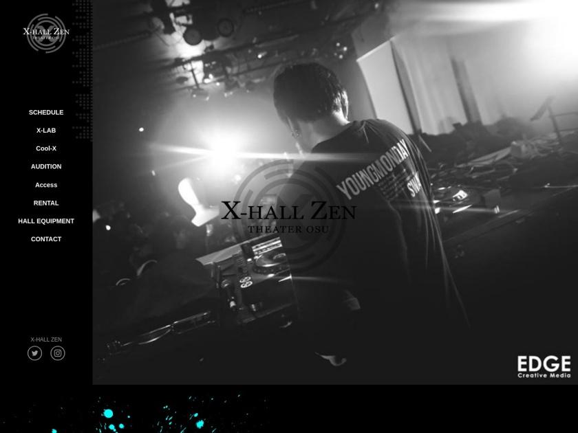 名古屋X-HALL -ZEN-/THEATER OSU