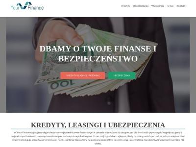 Kredyt online dla firm, pośrednictwo leasingowe i finansowe, ubezpieczenia Warsz