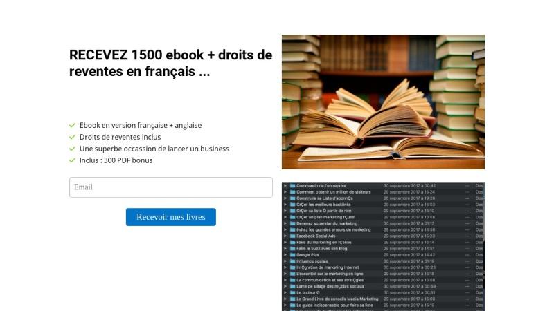 superpack 1500 pdf revendables