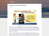 Businesses That Can Profit From A Mobile App