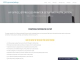123.hp.com/ojpro6230 setup | hp Officejet pro 6230 printer setup