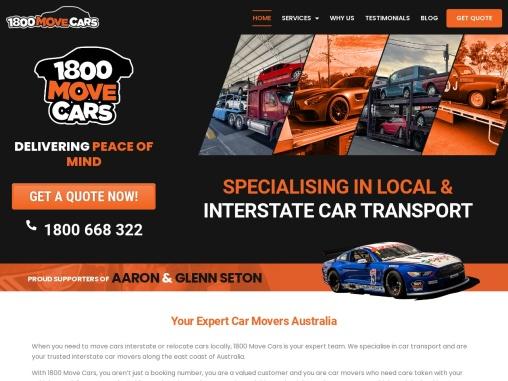 Interstate Car Transport Australia