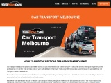 Car Transport Melbourne – 1800 Move Cars