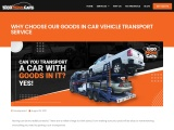 Why Choose Our Goods in Car Vehicle Transport Service