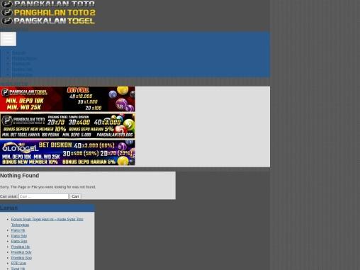 Bandar Togel Online Bonus Deposit Harian