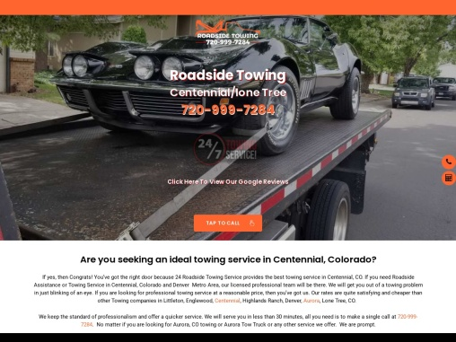 Tow Truck Centennial CO   Towing Centennial