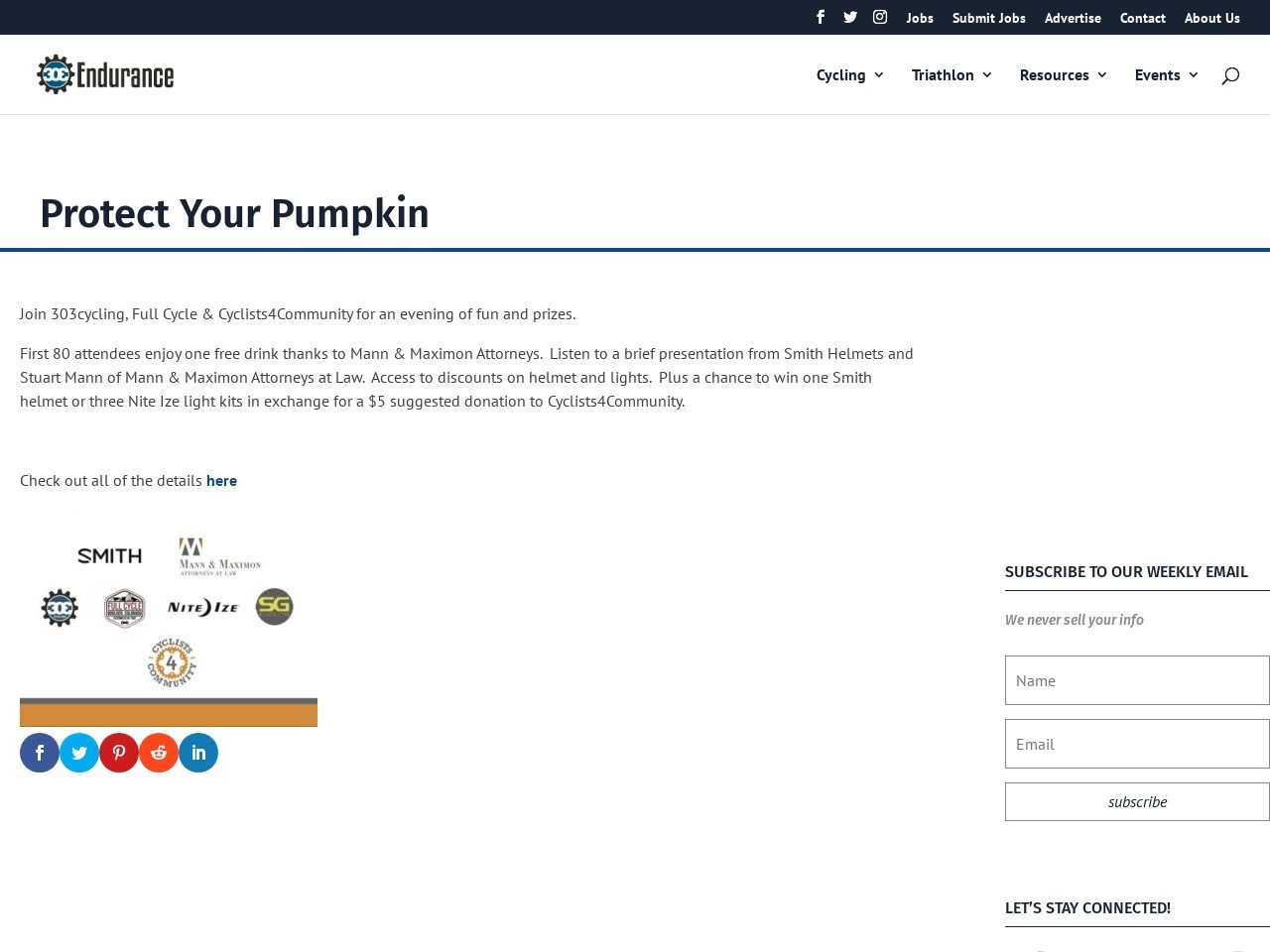 Protect Your Pumpkin