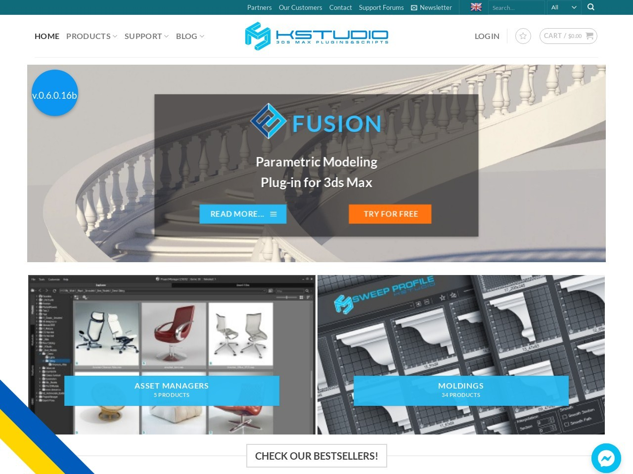 Kstudio Project Manager – Asset Browser for 3Ds Max Coupon