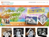 3D Crystal Rectangle Wide trust your project to 3Dcrystal.com when shopping 3D Photo crystal online?