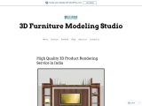 High Quality 3D Product Rendering Service in India