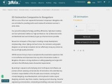 2d animation companies in bangalore