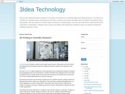 3D Printing In Scientific Researach