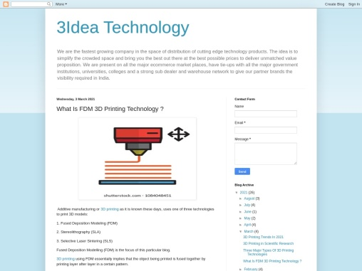 What Is FDM 3D Printing Technology