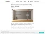 Distance Measurement on Mobile App using ARCore | 47Billion