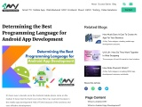 Best Programming Language for Android App Development