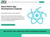 React Native App Development Company in USA – 4 Way Technologies